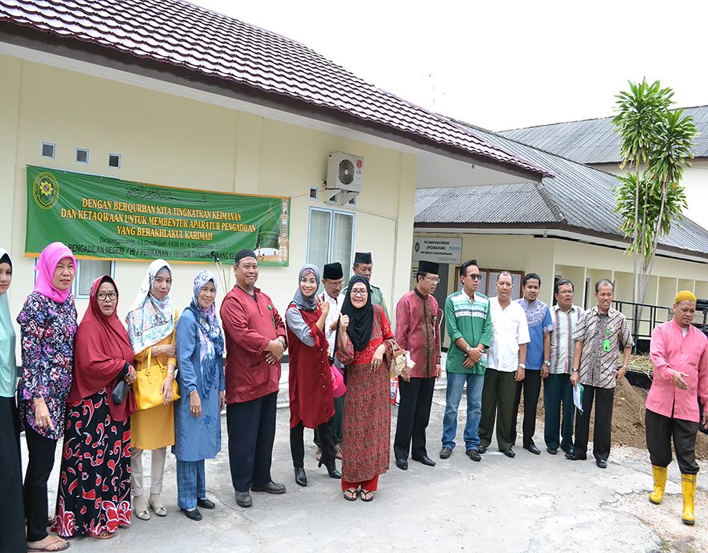 Pemotongan Hewan Qurban Pengadilan Negeri Tanjungpinang
