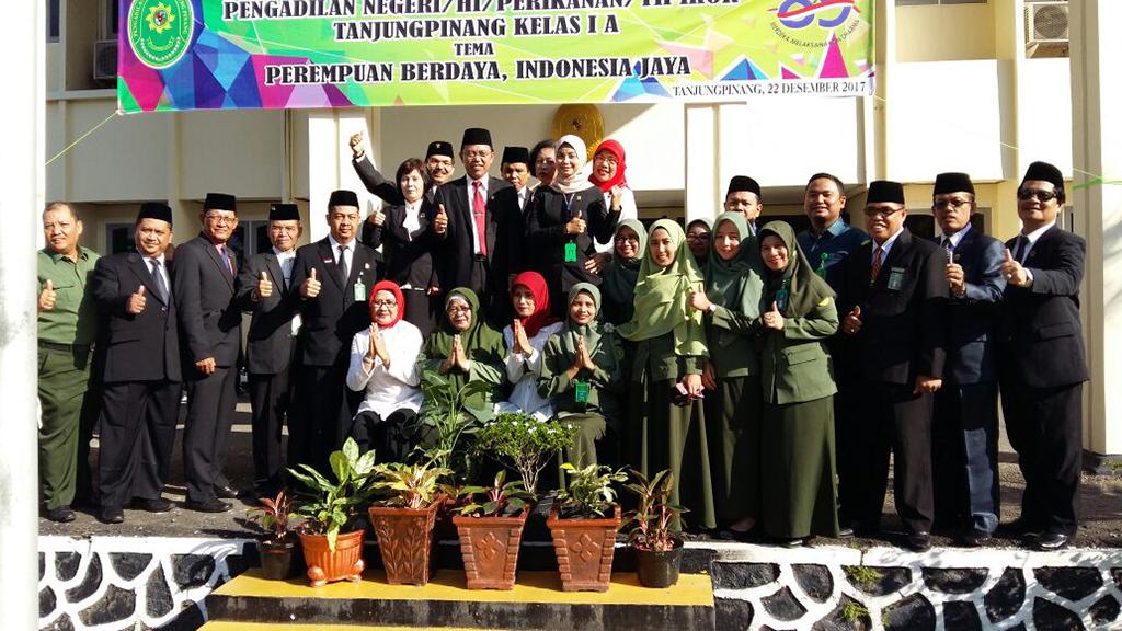 Peringatan Hari Ibu Pengadilan Negeri Tanjungpinang