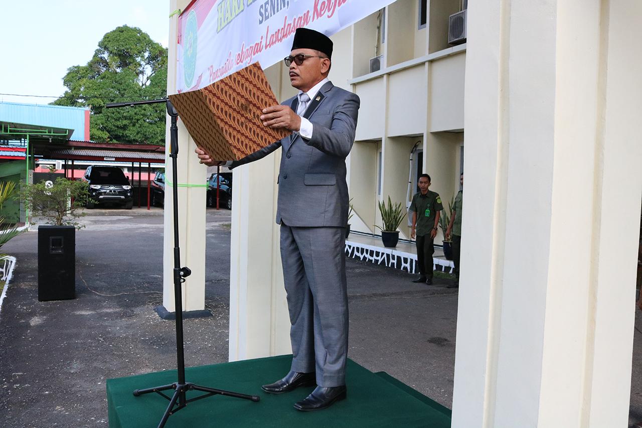 Upacara Peringatan Hari Kesaktian Pancasila di Pengadilan Negeri/HI/Perikanan/Tipikor Tanjungpinang
