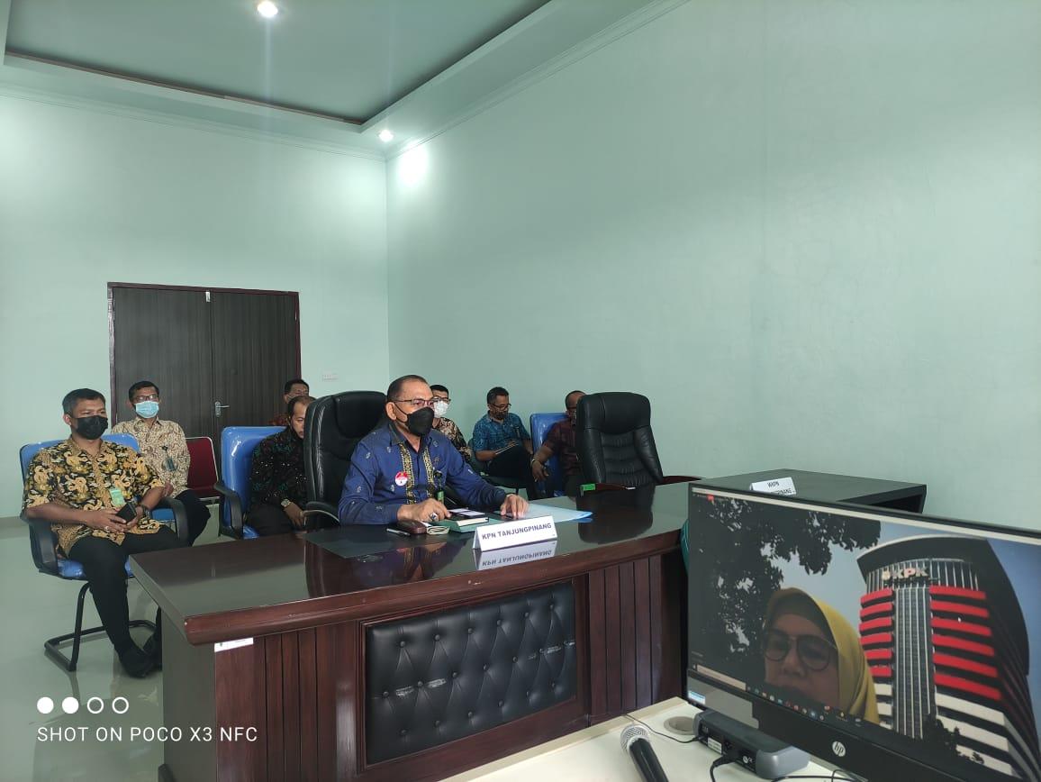 Acara Seminar SKKNI Forensik Digital Oleh KPK
