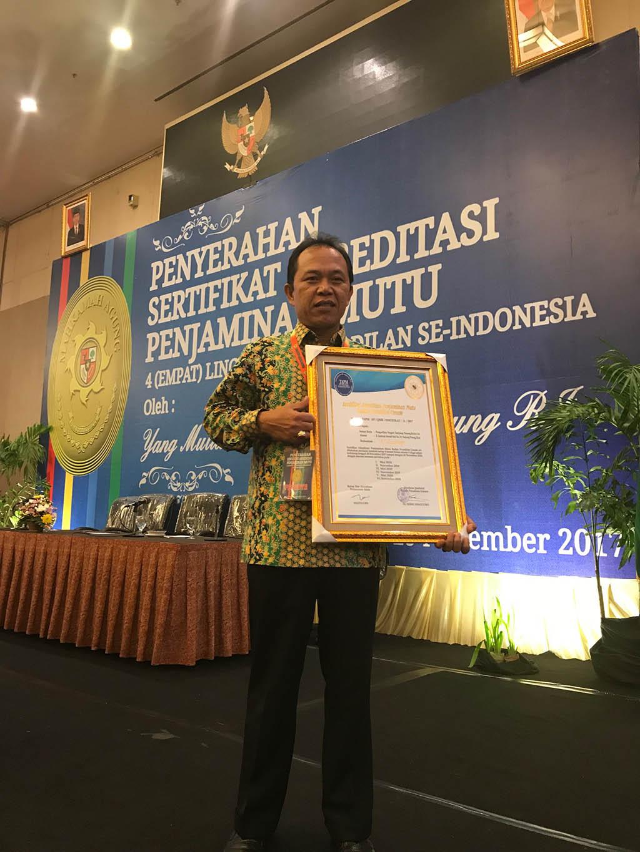 """PN. Tanjungpinang meraih akreditasi """"A"""" Excellent"""