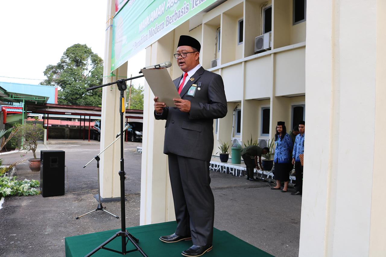Upacara Hut Mahkamah Agung Republik Indonesia Ke 74