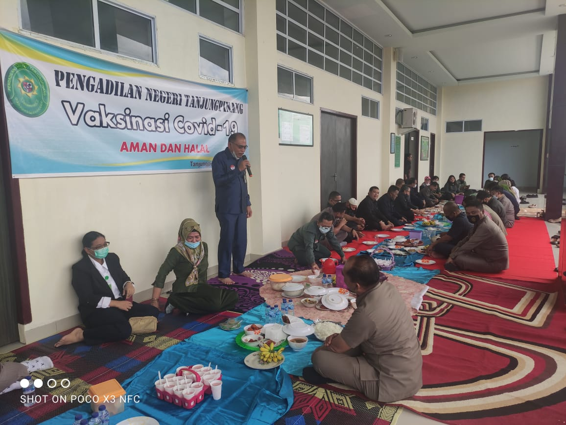 Acara Makan Bersama Menyambut Bulan Suci Ramadhan 1442 H