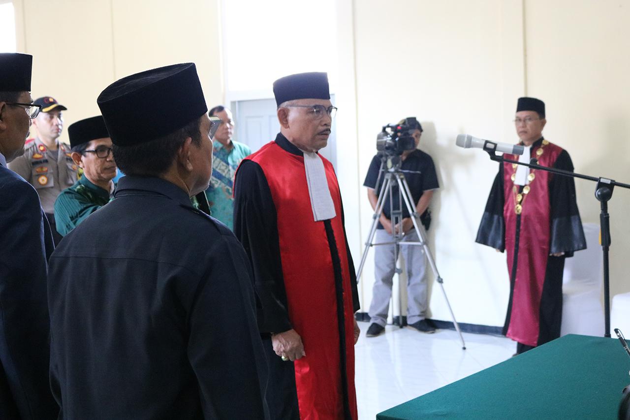 Pengambilan Sumpah , Pelantikan, dan Serah Terima Jabatan Ketua Pengadilan Negeri Tanjungpinang Kelas IA