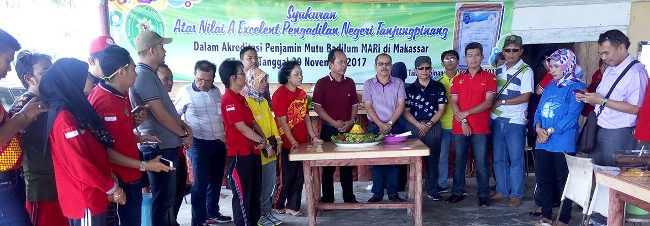 Syukuran Akreditasi Pengadilan Negeri Tanjungpinang