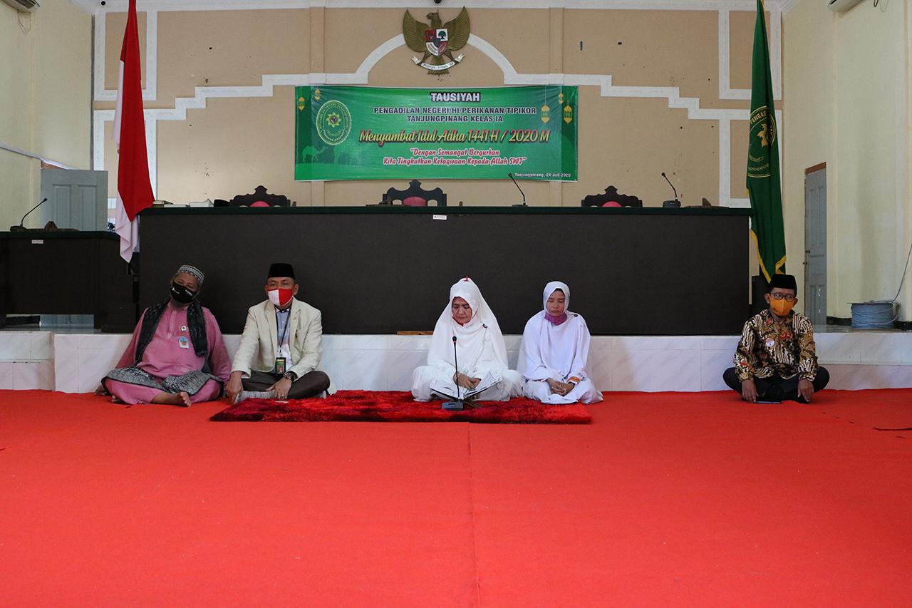 Tausiyah dalam Rangka Menyambut Idul Adha 1441 H